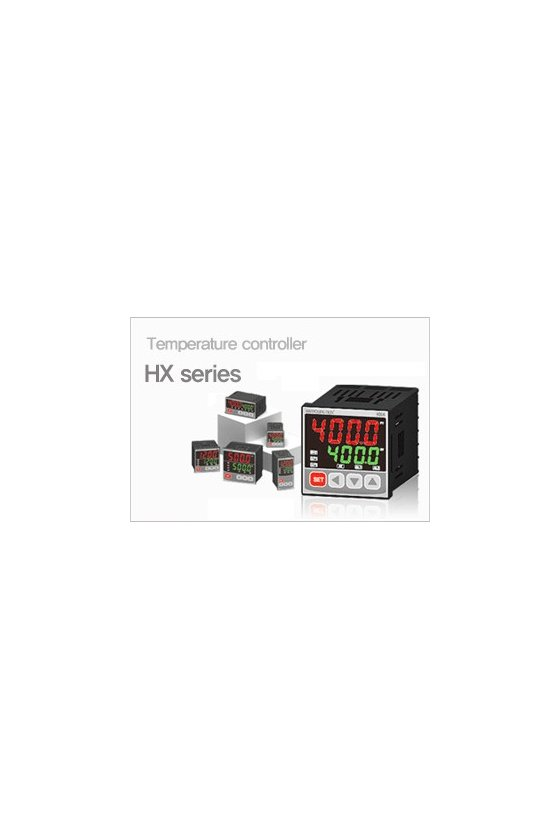 HX700 Control de temperatura digital 72x72mm multi-input, salida  SSR + Rele + 4-20mA +2 Alarmas  al