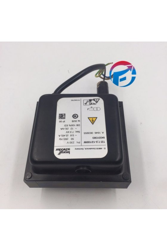 TZI 7.5-12/100R TRANSFORMADOR ENCENDIDO TZI 7.5-12 / 100R 115 VAC 7.5kV 8433138