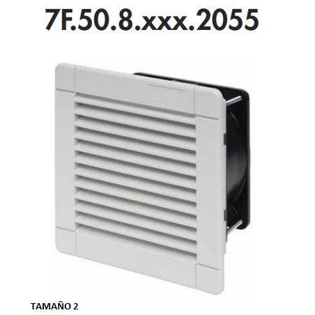 7F.50.8.230.4370 Series 7F - Ventiladores con filtro