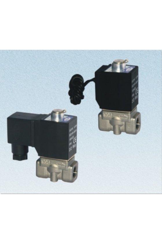 2KL250-25AT Valvula solenoide 2 vias 2 pociciones puertos de 1''  INOX. VAPOR,  N.A.
