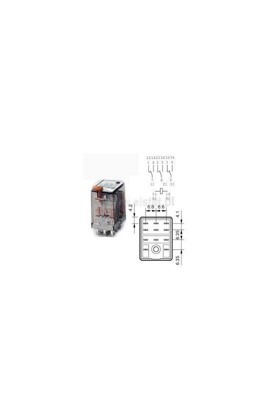 55.33.8.120.0050 Series 55 - Relés industriales 7 - 10 A