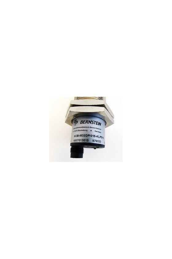 6507013015 Sensor capacitivo Carcasa metálica roscada KCB-M32DP/015-KLPS12 B