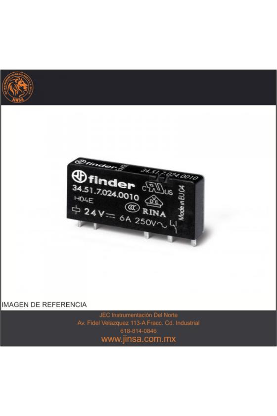 34.51.7.012.0010 Series 34 - Mini-relé para circuito impreso (EMR ó SSR) 0.1-2-6 A