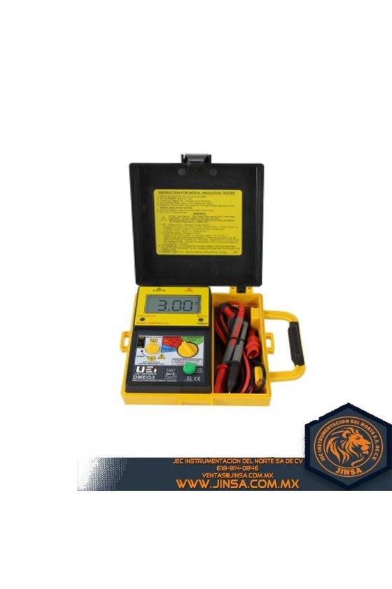 DMEG3 DIGITAL INSULATION RESISTANCE TESTER