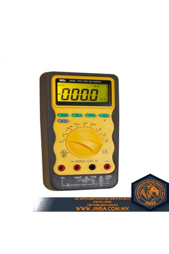 DM393 DIGITAL MULTIMETRER W/TRUE RMS