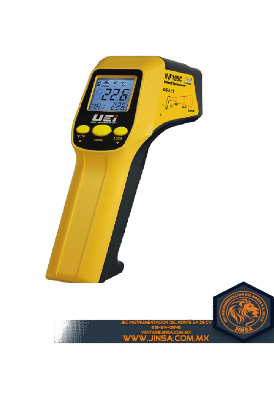 INF195C INFRARED THERMOMETER W/K-TYPE INPUT
