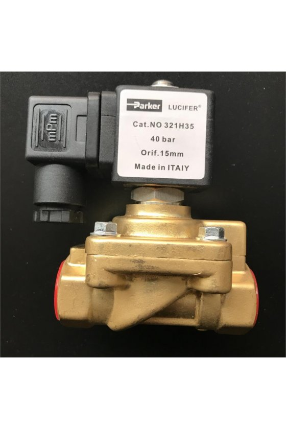 """Válvula lucifer normalmente cerrada de 1/2"""" modelo 321H35"""