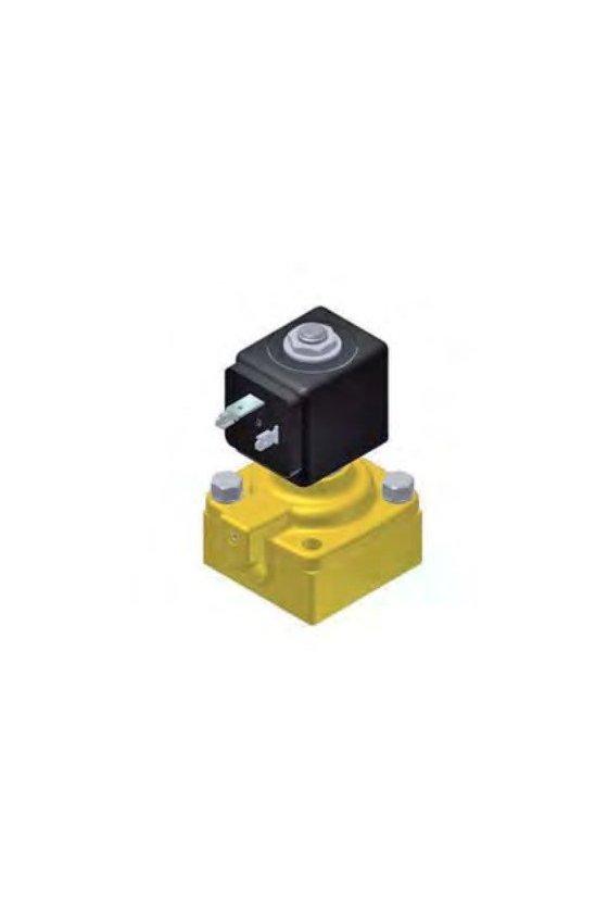 Válvula para sub base de montaje  para aire seco lubricantes o gases neutros de 1/2 modelo 322F35
