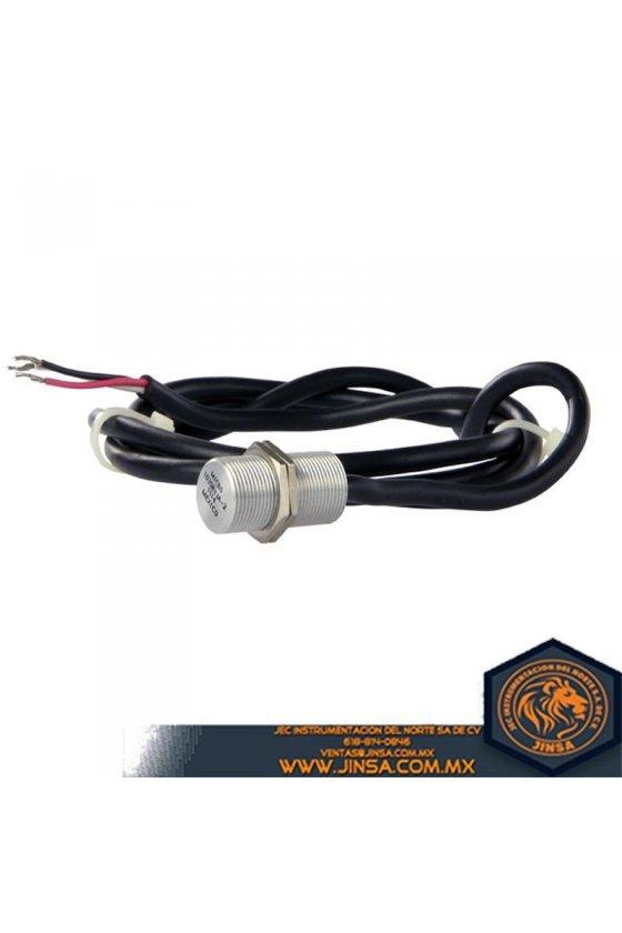103SR13A-2 Sensor de posición digital de efecto Hall unipolar serie 103SR con carcasa roscada de aluminio cilíndrica
