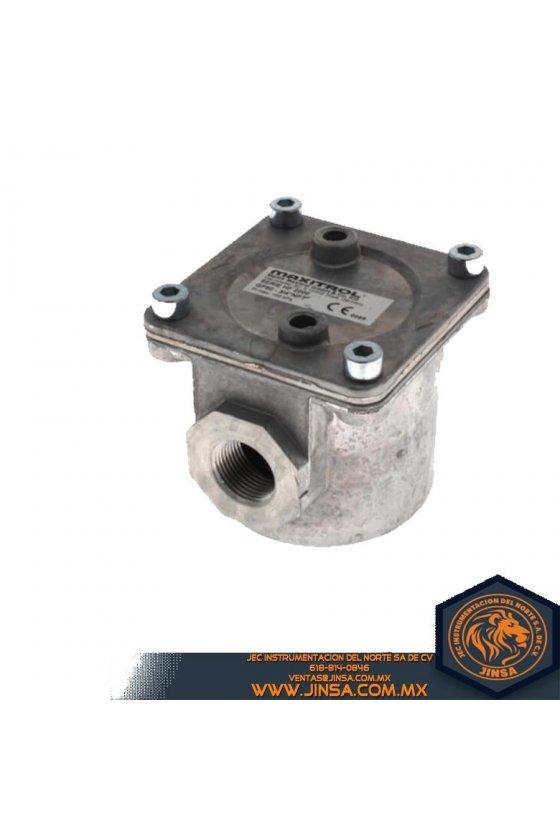 Filtro de gas 3/4 en aluminio serie de GF60-66-A0