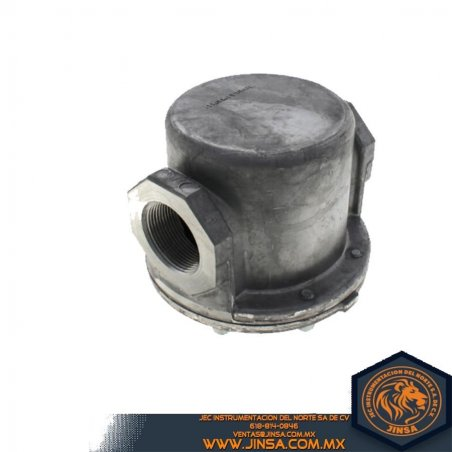 Filtro de gas 1 1/2 IN en aluminio serie GF80-1212-A0