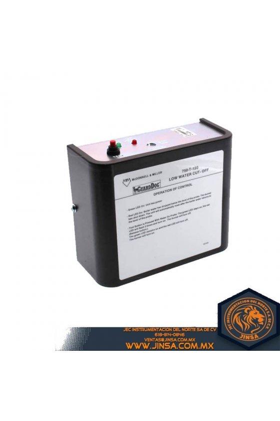 176206 Control con reset automático y switch de prueba serie 7