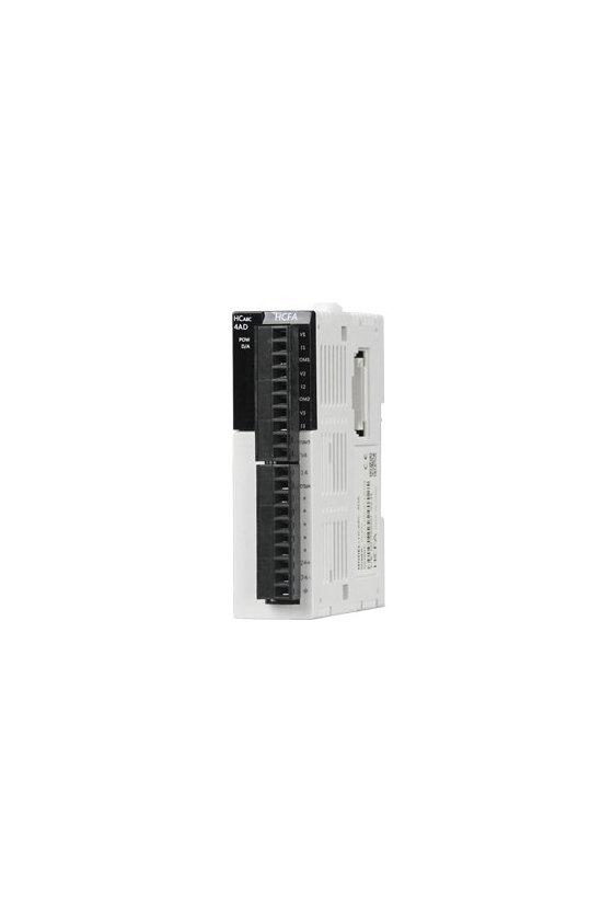 HCA8C-4AD-ADP modulo DVP04AD-S para PLC 4 entradas análogas adaptables
