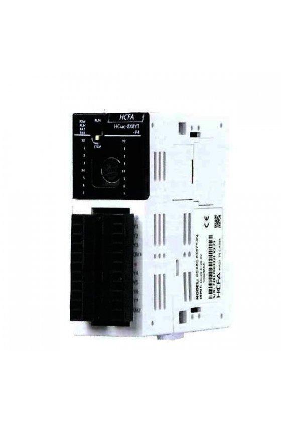 HCA8C-8X8YR Unidad PLC de alto rendimiento  8 entradas / 8 salidas a revelador