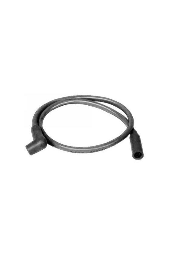 392286-1 Cable de ignición ambos extremos puntas de goma rectos