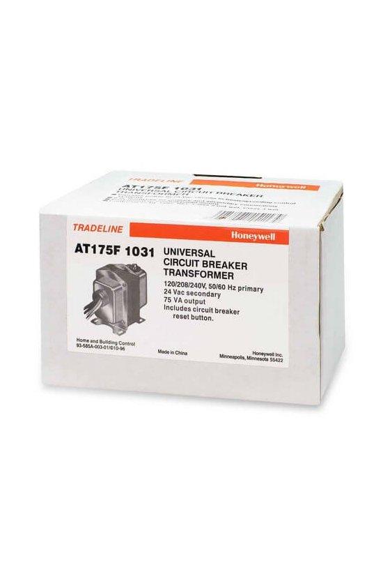 AT175F1031 Transformador 208/277/480 a 24vca 75 VA c/reset manual