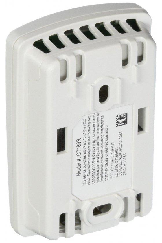 C7189R1004 Sensor de aire interior inalámbrico. RedLINK ™ habilitado. Detecta la temperatura interior y la humedad a utilizar.
