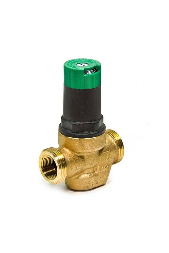 DS06-100-SUT-LF  Válvula Reguladora  1/2 IN H NPT P/agua 20-90Psi 60 GRAD C max una tuerca DS05C1022