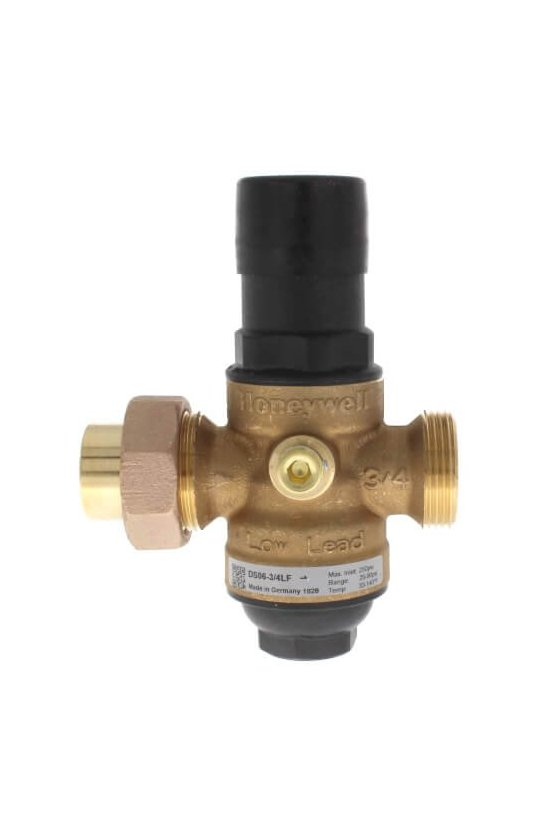 DS06-101-LF Válvula Reguladora 3/4 IN H NPT P/agua 20-90Psi 60 GRAD C max sin tuercas