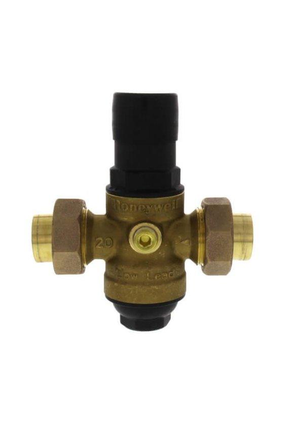 DS06-102-DUT-LF Válvula Reguladora 1 IN H NPT P/agua 15-90 Psi 82 GRAD C doble tuerca