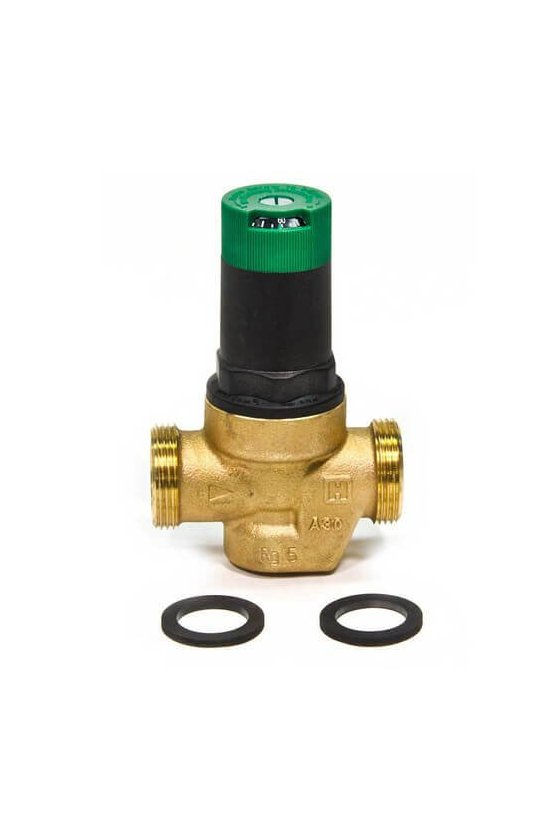 DS06-103-LF Válvula Reguladora 1 1/4 IN H NPT P/agua 15-150Psi 82 GRAD C sin tuercas