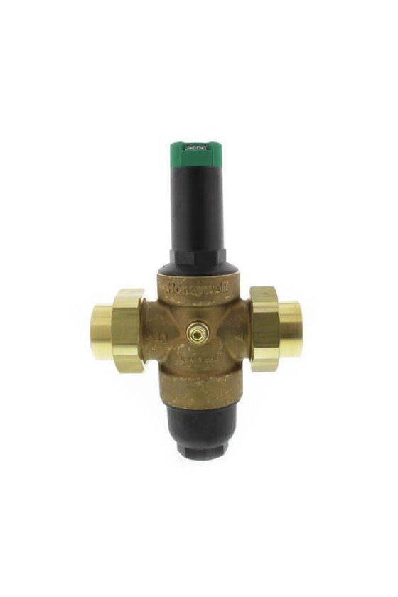DS06-104-DUT-LF Válvula Reguladora 1 1/2 IN NPT p/agua 15-130Psi doble tuerca