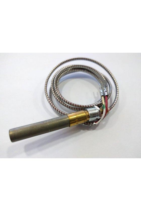 """Q313A1402 Termopila de 750 mV, 35 """"de largo. Con adaptador PG9 y tuerca de fijación."""