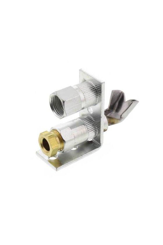 Q314A4586 Quemador piloto permanente para gas natural con orificio BCR-18 y BBR-10. Estilo de punta única frontal.