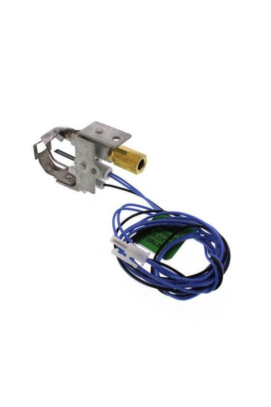 Q3450C1185 El quemador piloto SmartValve System para gas natural, incluye orificio BCR-18 y punta orientada hacia la izquierda