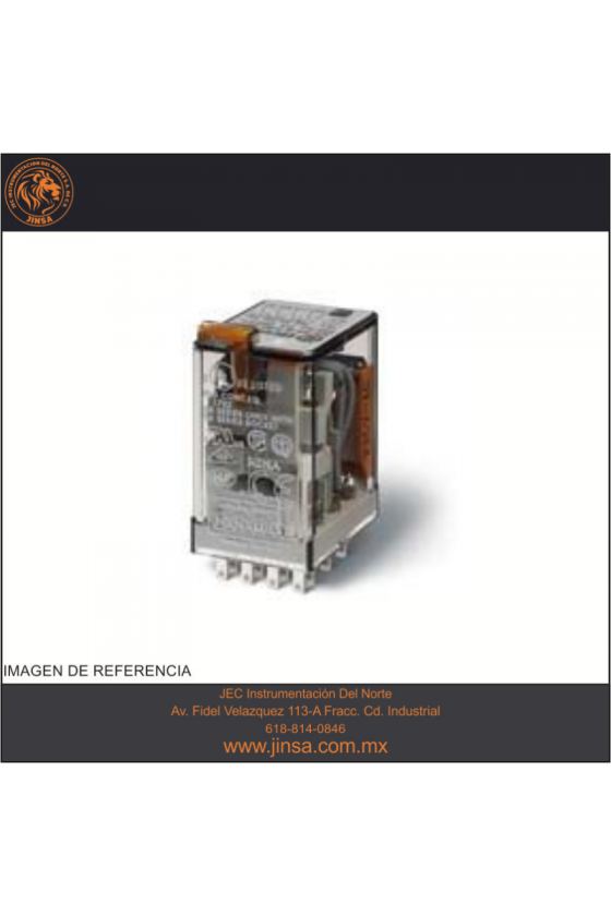 55.33.9.024.0010 Series 55 - Relés industriales 7 - 10 A