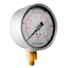 "10040010000 Manómetro glicerina Carat. 4"" DE PC. CNX de 1/4"" NPT INF. 10000 psi"