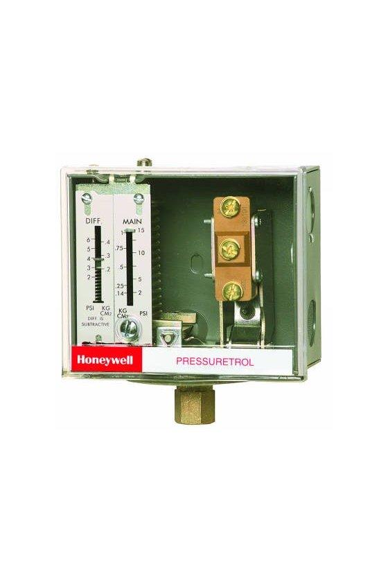 L404F1060 PRESURETROL 2-15 PSI  DIF 2-6 PSI  SPDT   SIN SIPHON