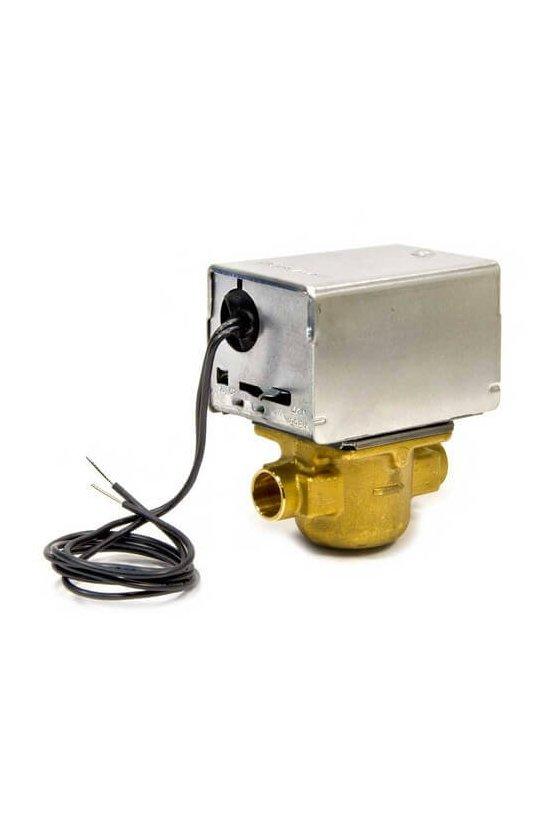 V4043A1010 Valvula motorizada 1/2 IN soldable 120VAC Cv 3.5