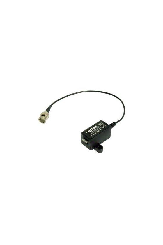 VB31PT El transceptor de video balun UTP VB31PT es un dispositivo pasivo con cable coaxial y un BNC macho