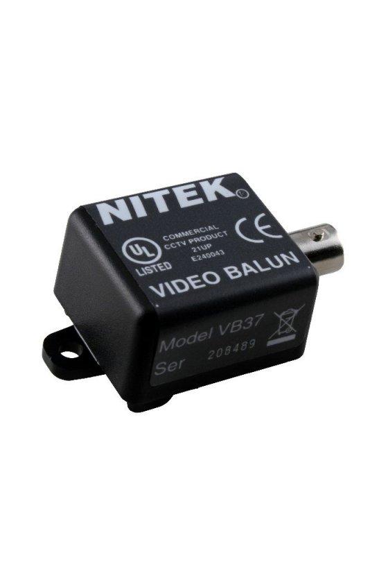 VB37F CCTV balun con inmunidad al ruido UTP para transmisión de par trenzado de vídeo