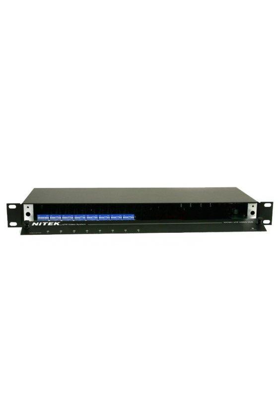 VH851 Concentrador de vídeo activo de 8 puertos con salidas duales