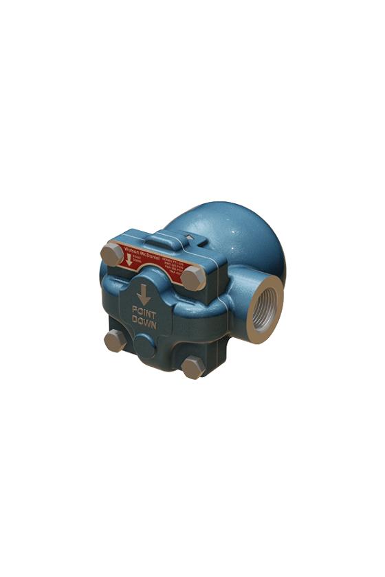 """FTT145-12-N 1/2 Trampa flotador y termostato de hierro ductil 145psi de 1/2"""""""