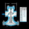 HD-12-N 1/2 Valvula reguladora para vapor piloteada 1/2