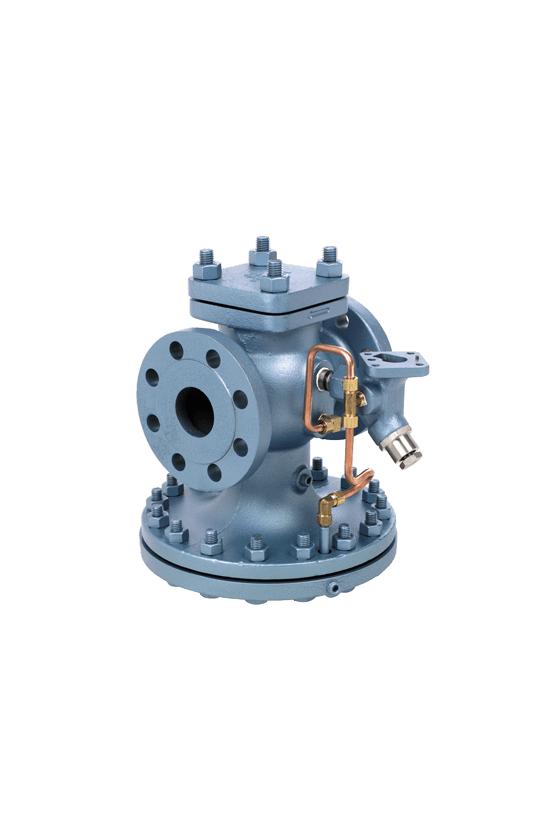 HD-14-N Válvula reguladora para vapor piloteada de 1