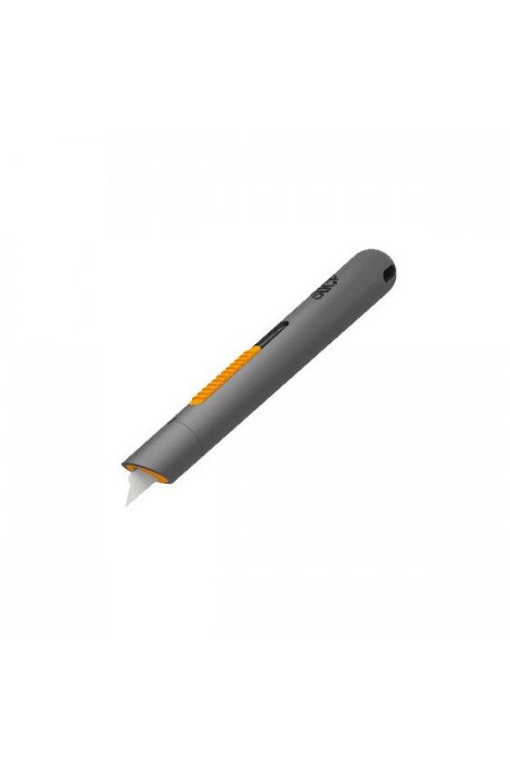 Cutter de lápiz manual de color naranja con hoja cerámica modelo 10513
