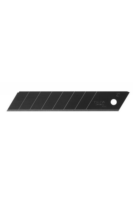 Cuchilla negra ultra afilada de 18 mm HD (LBB-10B)