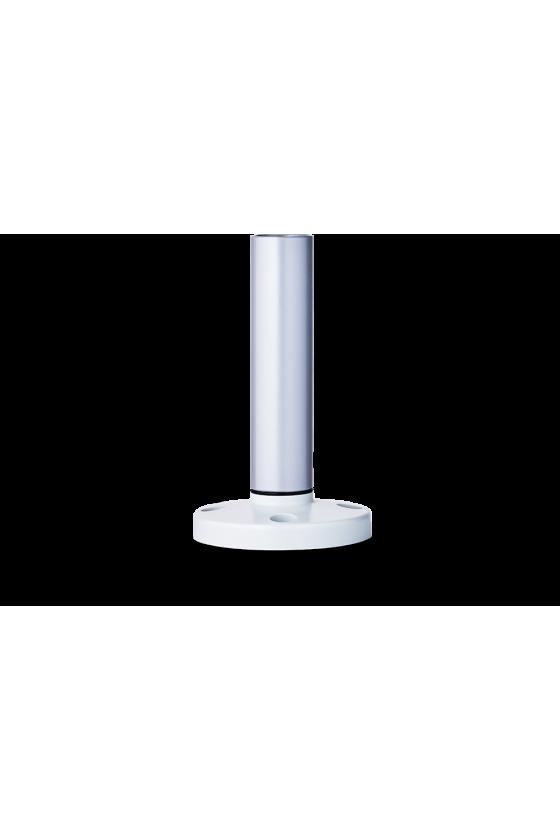 BMR Base con tubo de aluminio y pié de plástico 100mm base gris ref. 200 302 900
