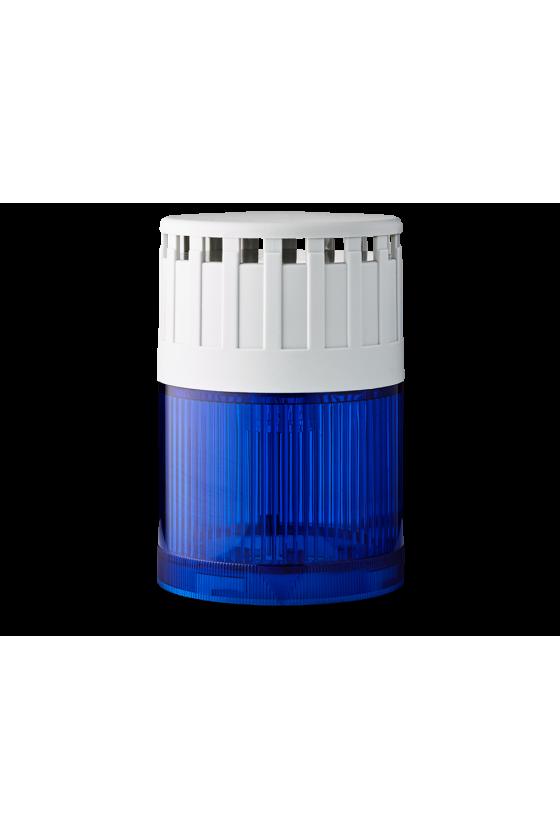SLD Mod. luminoso-zumbador LED Fija (AZ) base gris 12 V AC/DC Cont/Int 107 ó 90dB