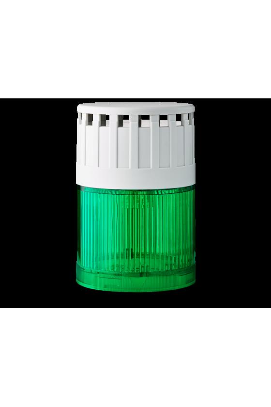 SLD Mod. luminoso-zumbador LED Fija (VE) base gris 12 V AC/DC Cont/Int 107 ó 90dB