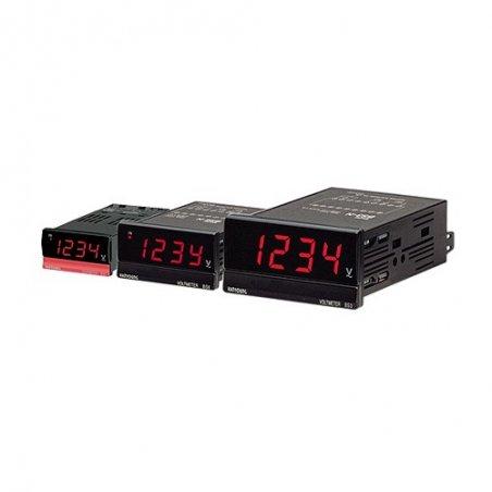 BS3ND207 Amperímetro Indicador DC 96X48mm 4 dígitos rango 1A-1999Acd alim. de 110-220vca