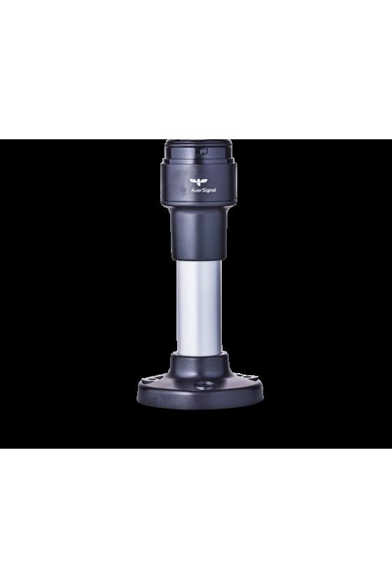 ZMR ECOmodul40 Base para montaje, tubo de aluminio 100mm con pie de plástico