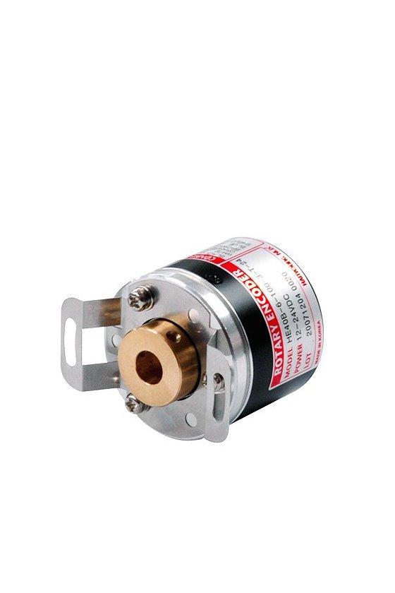 Encoder diam. Ext. 50mm Flecha 8mm   salida A,B,Z Push Pull de 12 -24vcd 100ppr