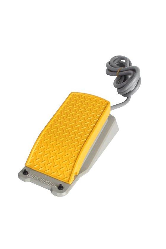 HY-103N Interruptor de pedal  en aluminio mediano 1 NA +1 NC 10 amp 250 vca   80x170x58 mm