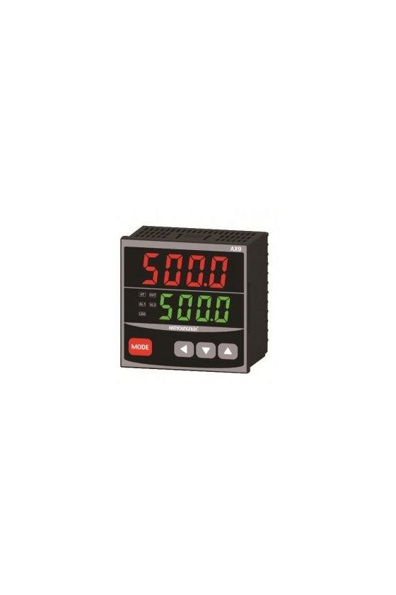 Control de temperatura digital 1/4 Din 96x96 mm