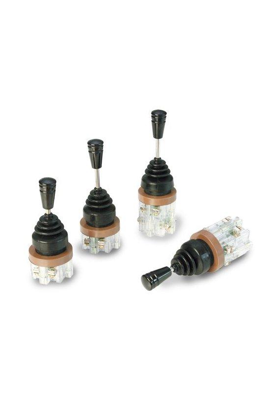 LES042 Interruptor de palanca corto  4  posiciones  sostenido  de 3A 250vca
